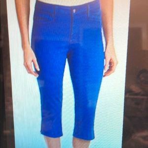 NYDJ Not Your Daughter's Jeans Caribbean Blue 4